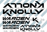 Knolly Warden Decals
