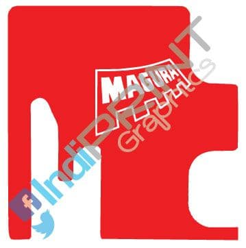 Magura MT 140 AM Fork Boot Decal