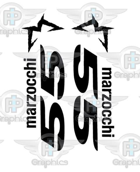 Marzocchi 55 Simple Fork Decals
