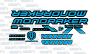 Mondraker Foxy R 2020 Graphic Stickers