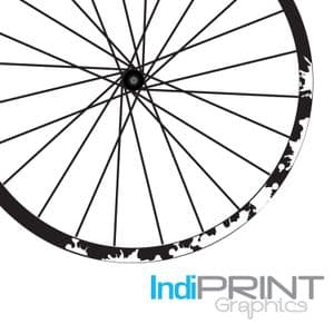 Paint/ink Splat Section Rim Decal