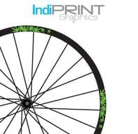 Palm Leaf Custom Rim Decal