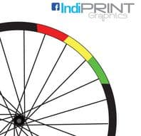 Rasta Rim Decals