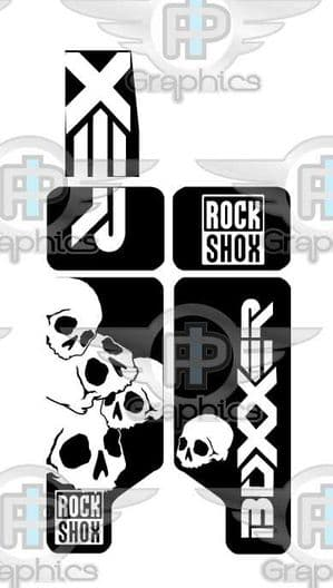 Rock Shox Boxxer 2010 Special effects Decals