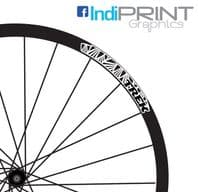 Trek Multi Logo Rim Decal