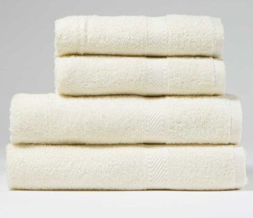 Incredibly Cheap, Indulgence 450gsm Bath Towel in Cream