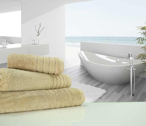 Luxurious linenHall, 650gsm Bath Sheet in Natural