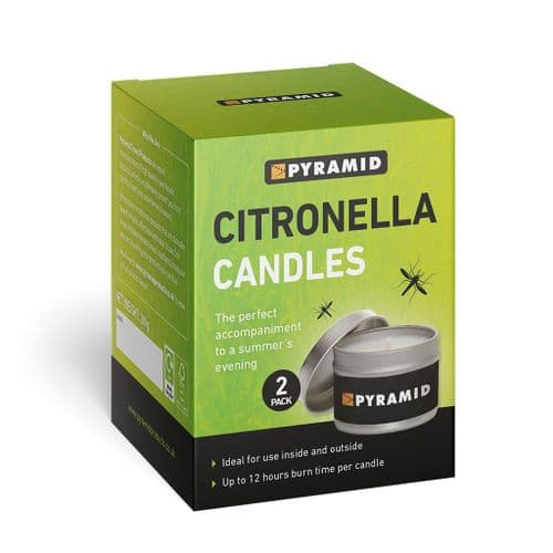 Citronella Candles - 2 Pack
