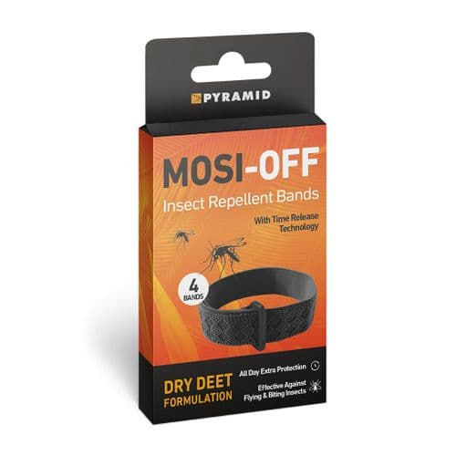 MOSI-OFF Insect Repellent Bands for Wrists and Ankles