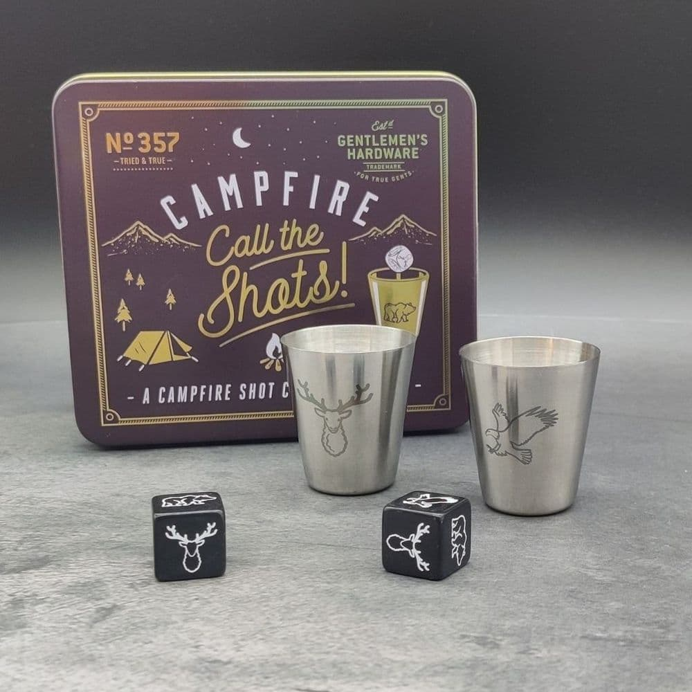 Campfire Call the Shots Camping Game