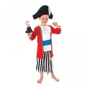 CAPTAIN PIRATE BOY AMSCAN FANCY DRESS COSTUME