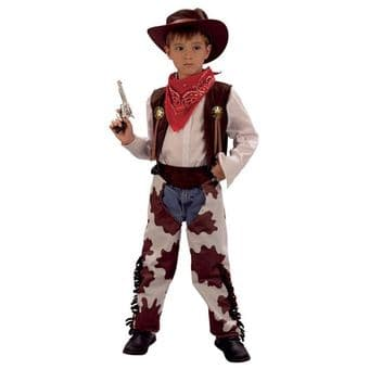 COWBOY OUTFIT FANCY DRESS COSTUME
