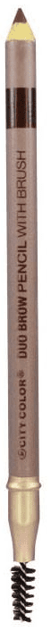 City Color Eyebrow Pencil Medium Brown