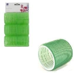 Dimples Self Grip Rollers Large Green  6 Pack
