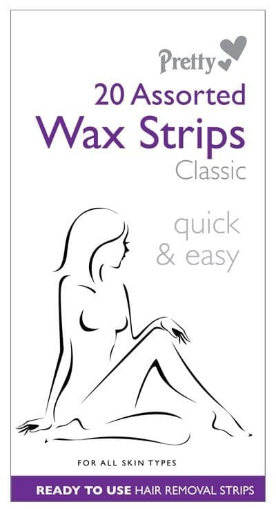 Pretty Assorted Wax Strips Classic