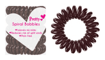Pretty Spiral Bobbles Brown