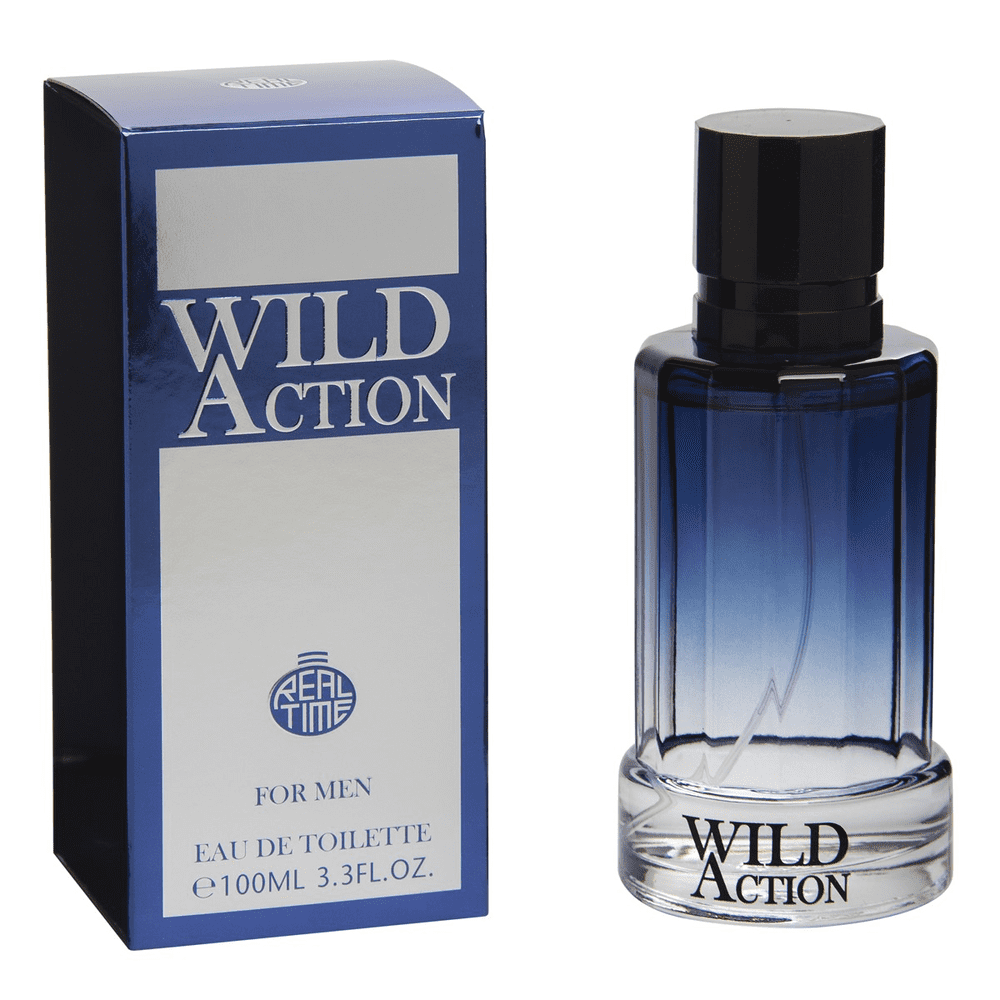 Real Time Mens Aftershave Wild Action 100ml EDT