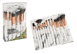 Royal Marble Luxe 12piece Brush Set