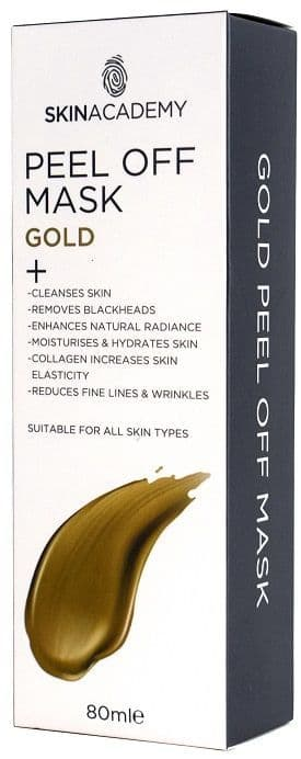 Skin Academy Peel Off Mask Gold 80ml