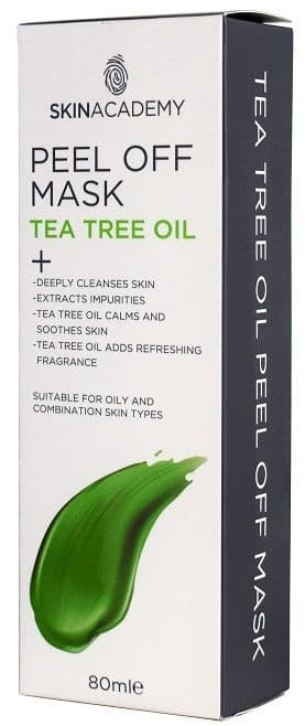 Skin Academy Peel Off Mask Tea Tree Oil 80ml