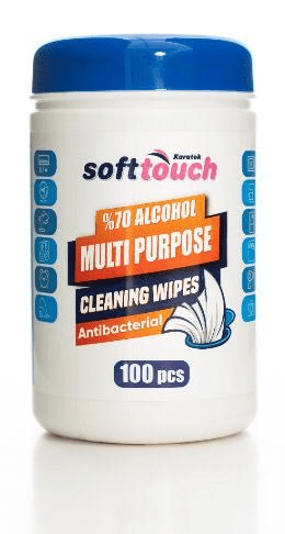 Soft Touch Antibacterial Cleaning Wipes 100pieces