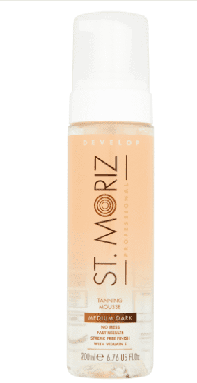 St Moriz Clear Self Tanning Mousse