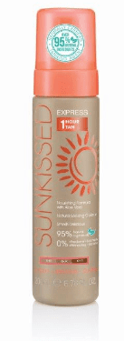 Sunkissed Self Tan Mousse Express 1hour Tan 200ml