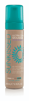 Sunkissed Self Tan Mousse Ultra Dark