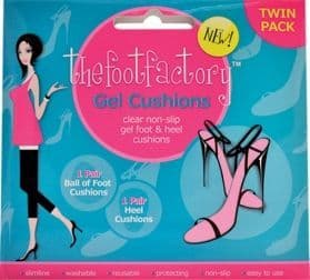 The Foot Factory Gel Cushions 2 Pairs