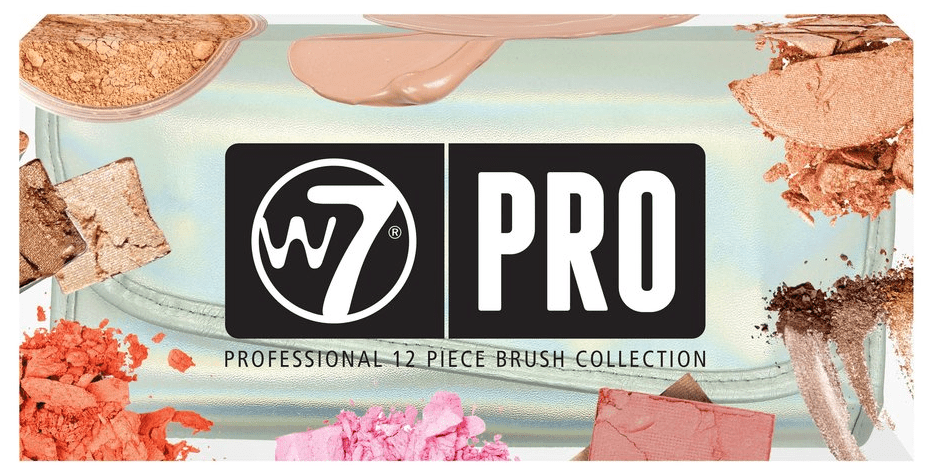 W7 12 Piece Professional Makeup Brush Set