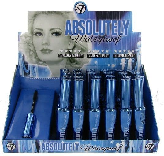 W7 Absolute Waterproof Mascara 1x24