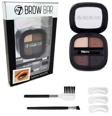 W7 Brow Bar Stencil Kit