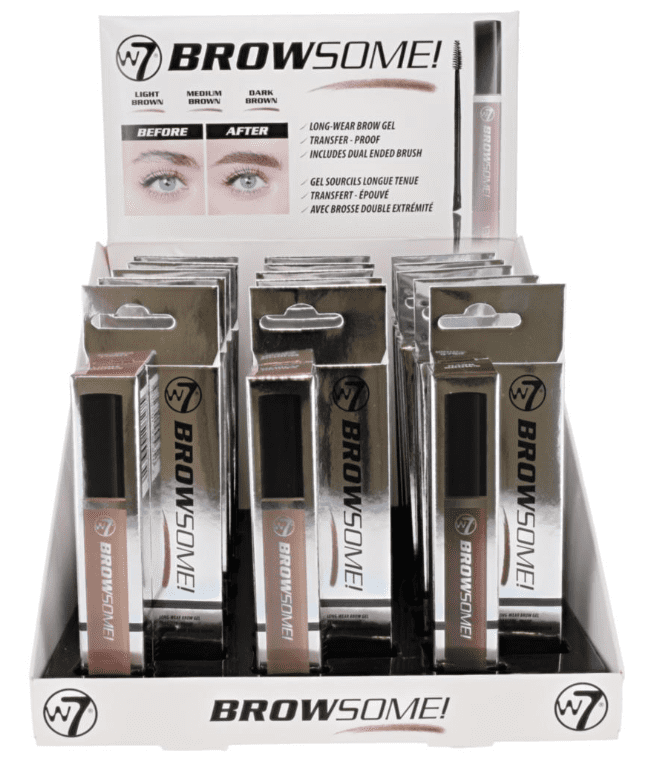 W7 Browsome! Long-Wear Eye Gel 1x18