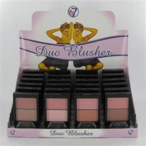 W7 Duo Blusher Assorted Shades 1x24