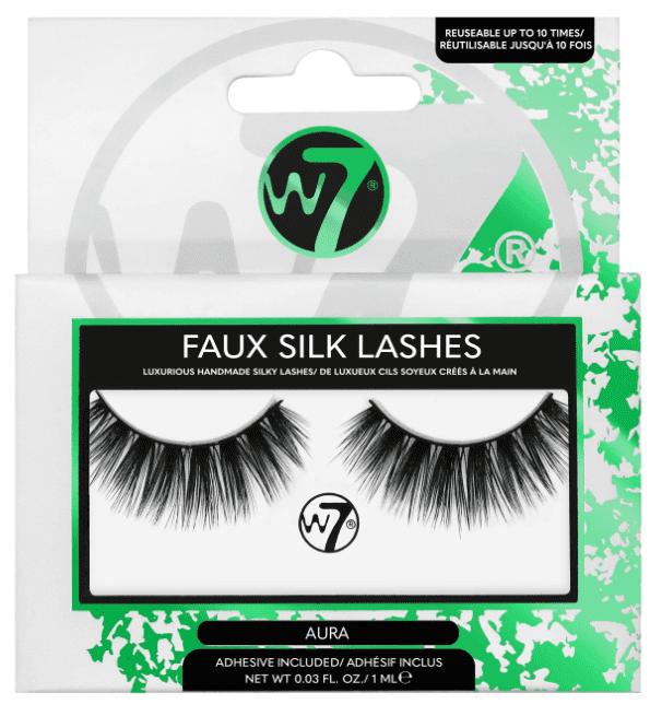 W7 Faux Silk Lashes Aura