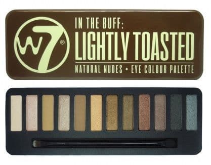 W7 In The Buff Lightly Toasted Eyeshadow Palette