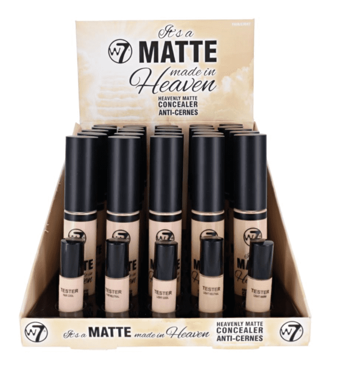 W7 It's A Matte Made In Heaven Concealer Fair/Light 1x25