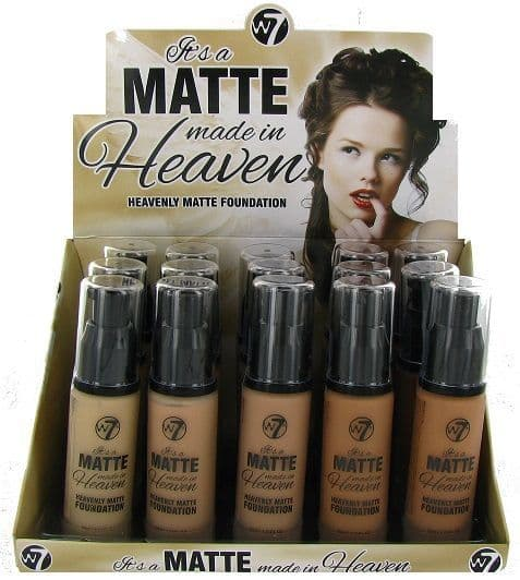 W7 It's A Matte Made In Heaven Foundation 1x15